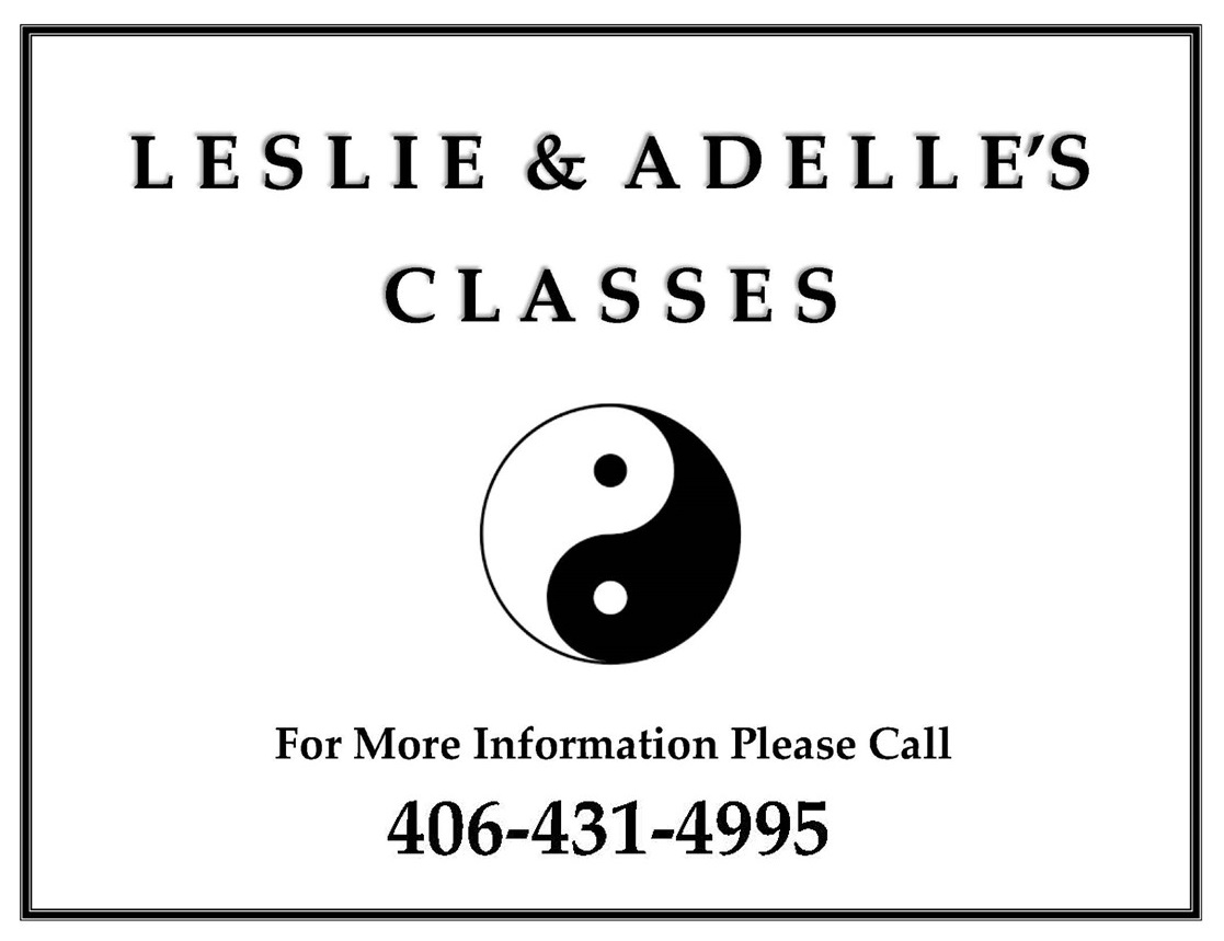 Leslie and Adele sign